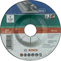 Doorslijpschijf gebogen, metaal Bosch 2609256310 Diameter 115 mm 1 stuks