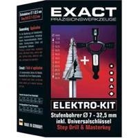 Exact 70606 HSS Getrapte boor 1 set