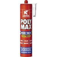 Griffon Poly Max High Tack Express 435 gr wit SMP montagelijm
