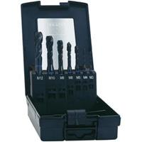 Machinetapboor 7-delig metrisch M3, M4, M5, M6, M8, M10, M12 Rechtssnijdend Exact 43654 DIN 371 HSS-E Model C 1 set