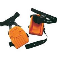 Upixx 2484 Kniebescherming Ergo van PU schuim, oranje Oranje