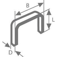 Bosch nieten gegalvaniseerd met fijne draad type-53 18mm