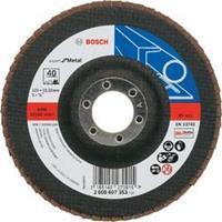 Waaierslijpschijven Bosch 2608607353 Diameter 125 mm Binnendiameter 22.23 mm Korreling 40