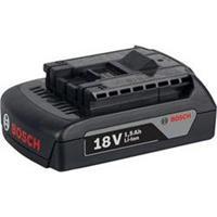 Bosch 1600Z00035 Gereedschapsaccu 18 V 1.5 Ah Li-ion