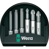 Wera Bitset pozidriv/philips/torx 6-delig