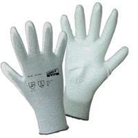worky 1171 ESD polyamide/carbon - PU fijne gebreide handschoen Polyamide / carbon met PU-coating Maat 11