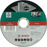 Doorslijpschijf recht, Inox Bosch 2609256323 Diameter 125 mm 1 stuks