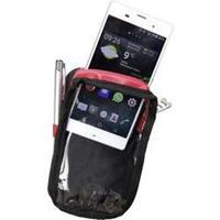 Plano P549XL Smartphonehoes XL Zwart, Rood