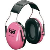 Peltor Peltor Kid oorbeschermers voor kinderen neonroze KIDR 27 dB 1 stuks