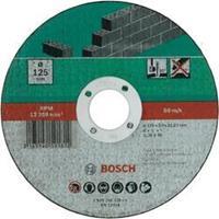 Doorslijpschijf recht, steen Bosch 2609256329 Diameter 125 mm 1 stuks