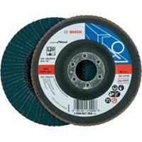 Waaierslijpschijven Bosch 2608607352 Diameter 115 mm Binnendiameter 22.23 mm Korreling 120