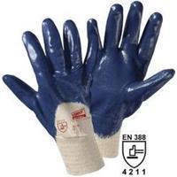 Leipold & Döhle Worky 1450C Katoenen tricot handschoen cross-nitril Katoen met Nitrilrubber coating