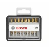 Bosch Schroefbitset Robust Line Sx Max Grip, 8-delig, 49 mm, PZ