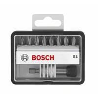 Bosch Schroefbitset Robust Line S Extra Hard, 8 + 1-delig, 25 mm, PZ