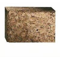Schuurblok, lengte x breedte: 80 x 120 mm, handschuurblok van kurk, klein Bosch 2607000637