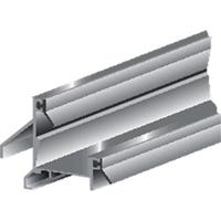 Ellen Tochtprofiel opbouw aluminium anb-11 100cm