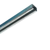 Henderson Husky schuifdeur bovenrail 280 staal verzinkt 3000mm