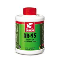 Griffon pvc lijm GR-95 250 ml incl kwast 1 liter
