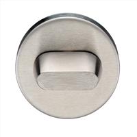 Intersteel WC-sluiting 8mm rond verdekt met metaal RVS