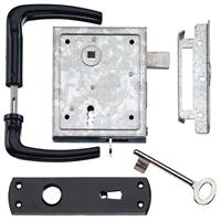 Dulimex UKS BB 55/65B Poortslot met hefschoot doornmaat 60mm twee sleutels 0160.095.5650