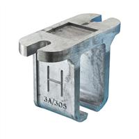 Henderson Raildrager aluminium 3a/305