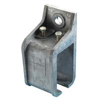 Henderson raildrager, aluminium voor wandmontage, incl. verbindingsfunctie 1ax/305