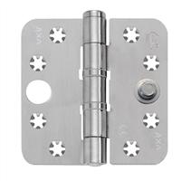 AXA Smart Veiligheidsschijflagerscharnier geborsteld RVS 89 x 89 x 3mm SKG*** 1647-09-81/VE
