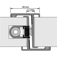 Nemef Deurnaald P-F 19-1 40/2450mm links