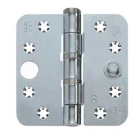 AXA Smart Veiligheidsschijflagerscharnier topcoat gegalvaniseerd 89 x 89 x 3mm SKG*** 1647-09-23/7V