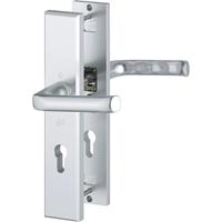 Hoppe Kruk/kruk schild, aluminium 113/2235/2234, PC 72, F1