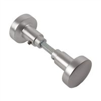 AMI knopkrukken 50 mm rond 169/50 quick aluminium F-2