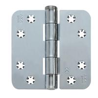 AXA Smart Veiligheidsscharnier ronde hoeken los gestort topcoat gegalvaniseerd 89 x 89 x 3mm SKG*** 1607-09-23/7
