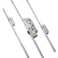HMB Cilinderbediend meerpuntsluiting 500312 voorplaat 24mm PC 72mm doormaat 65mm 1950mm SKG***
