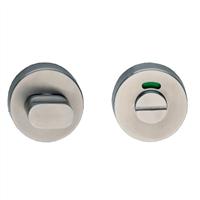 Ital Toiletgarnituur roestvaststaal rond 8mm