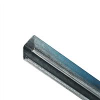 Henderson schuifdeur bovenrail 301 staal verzinkt 4000mm