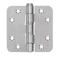 AXA Smart Veiligheidsschijflagerscharnier geborsteld RVS 89 x 89 x 3mm 1637-09-81/E