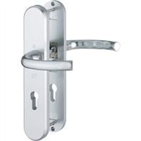 Hoppe Kruk/kruk schild, aluminium 1710/3235/3234, PC 72, F1, DD=54mm