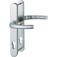 Hoppe Kruk/kruk smalschild, aluminium 1710RH/3278/3276 PC72 F1