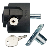axa Oplegslot antraciet kunststof 3012-20-97/G