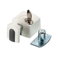 axa Oplegslot wit kunststof 3012-20-98/G