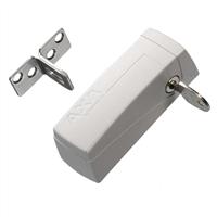 axa Oplegslot Automatic wit kunststof SKG** 3016-00-98/G