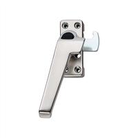 AXA Raamsluiting met nok drukknop inbouw sluitkom links F2 3318-41-92/E