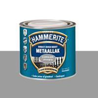 Direct over Roest metaallak zijdeglans zilvergrijs 250 ml