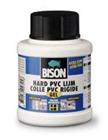 Bison hard pvc lijm gel flacon 250 ml + applicator