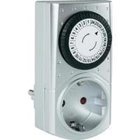 Stopcontact-schakelklok Analoog Dagprogramma GAO 3680 W IP20