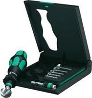 "Kegelverzinkboor set 8-delig 6.3 mm, 8.3 mm, 10.4 mm, 12.4 mm, 16.5 mm, 20.5 mm HSS Wera 05104655001 1/4"" (6.3 mm) 1 set"