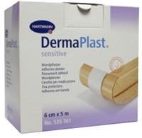 Dermaplast Sensitive Wondpleister 5 M X 6 Cm (1st)
