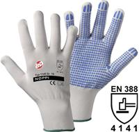 Leipold & Döhle Leipold + Döhle 1145 Fijngebreide handschoen NOPPI 100% polyamide Maat 10