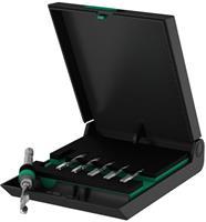 Combinatietapboorset 7-delig metrisch Rechtssnijdend Wera 05104651001 DIN 3126 HSS 1 set