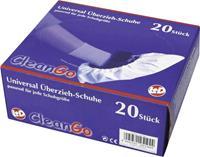 CleanGo 25194 Overschoenen Maat: Eén maat Wit